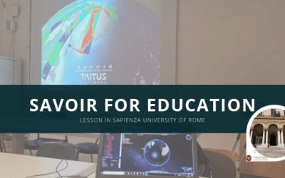 Taitus seminar at La Sapienza- Mission Scenario Simulation