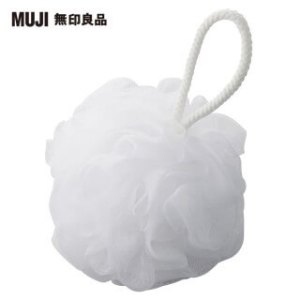 【MUJI 無印良品】泡立網浴球/大