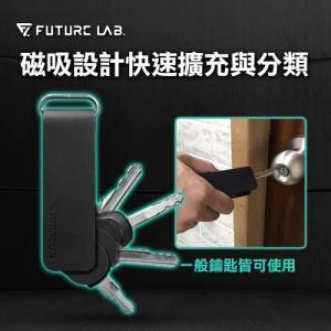 【Future Lab. 未來實驗室】MAGNET CLAMP萬引鑰匙夾 鑰匙圈 磁吸 收納