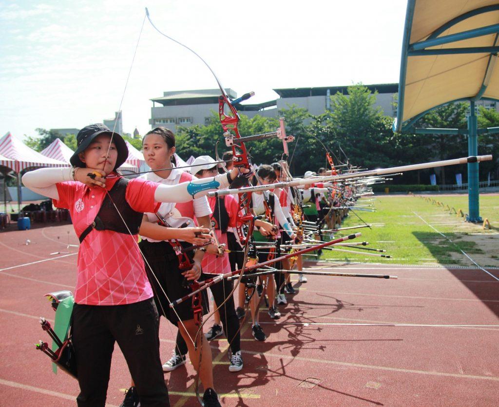 全國射箭區域性對抗錦標賽 射箭好手齊聚新竹市   兩岸好報