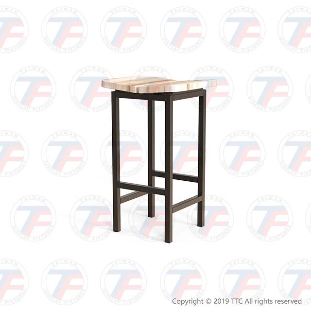 工業風高腳椅 for 臺展興業股份有限公司