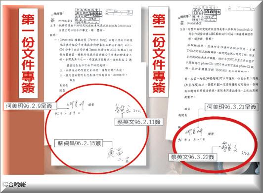 宇昌案兩文件今解密 疑 TaiMed 籌備∣臺灣e新聞