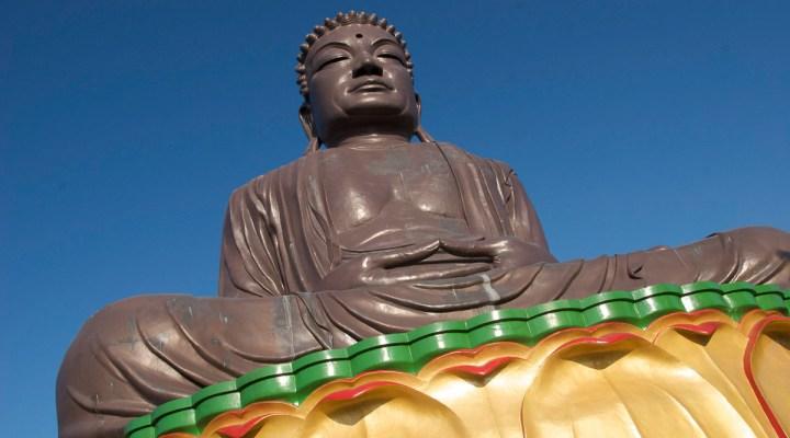giant buddha at Baguashan
