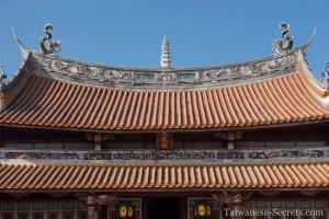Confucius temple roof changhua