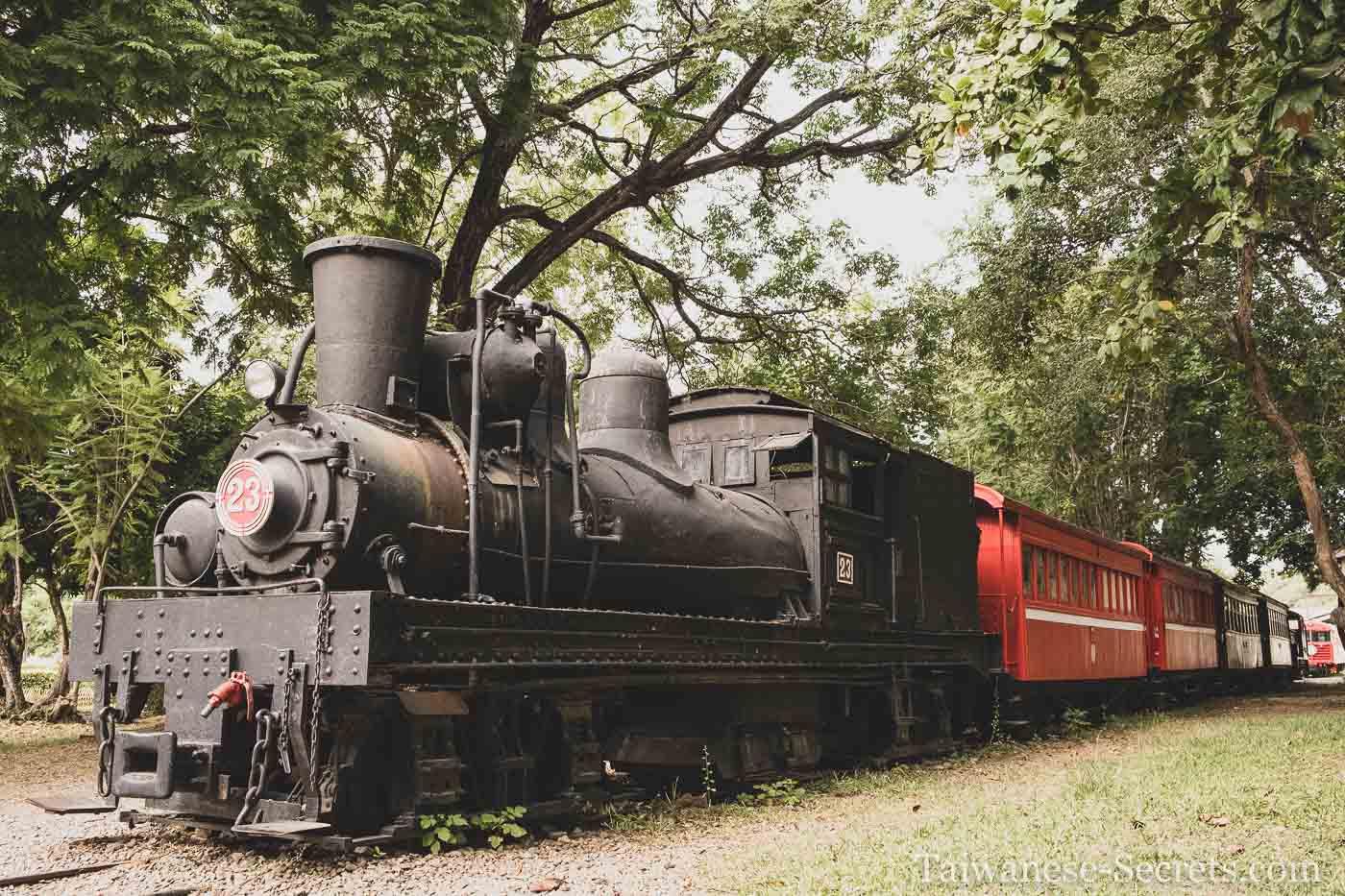 old train in chiayi