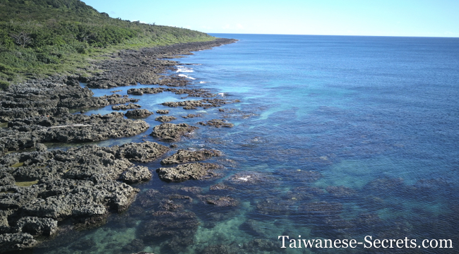 banana bay kenting snorkeling