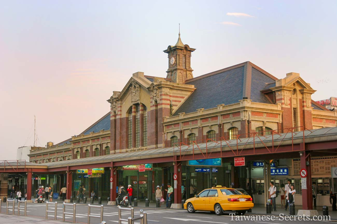 Taichung old train station
