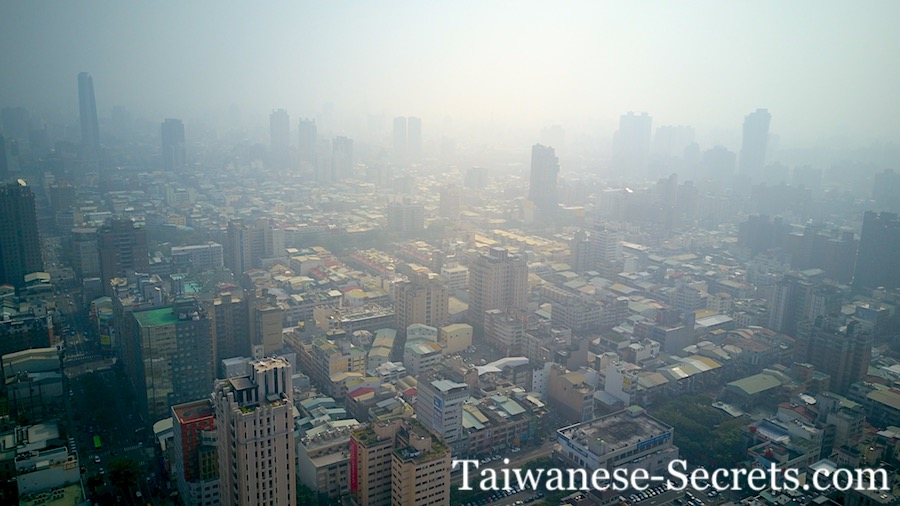 Taichung air pollution