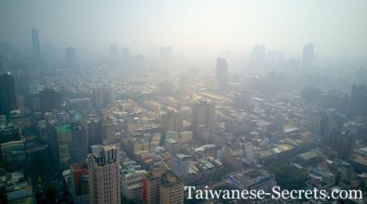 Taichung air pollution