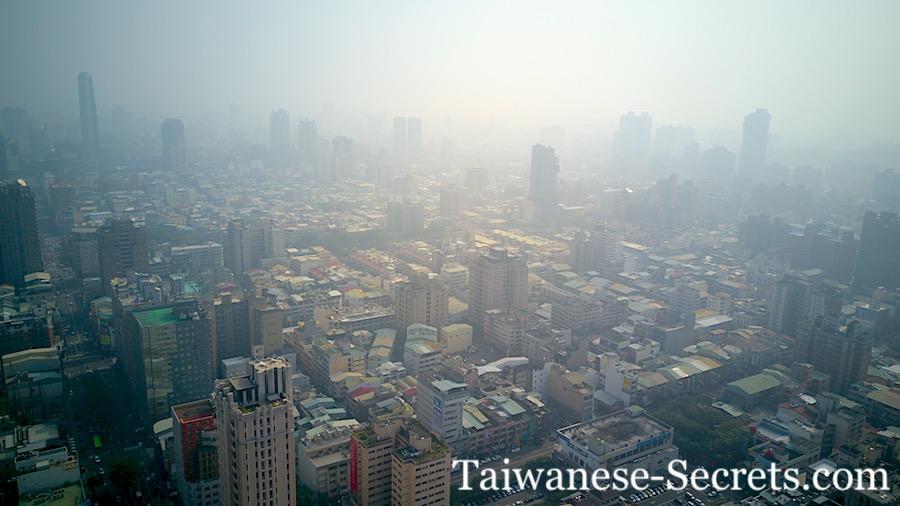 air pollution in taichung
