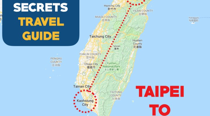 Travel from Taipei to Kaohsiung City