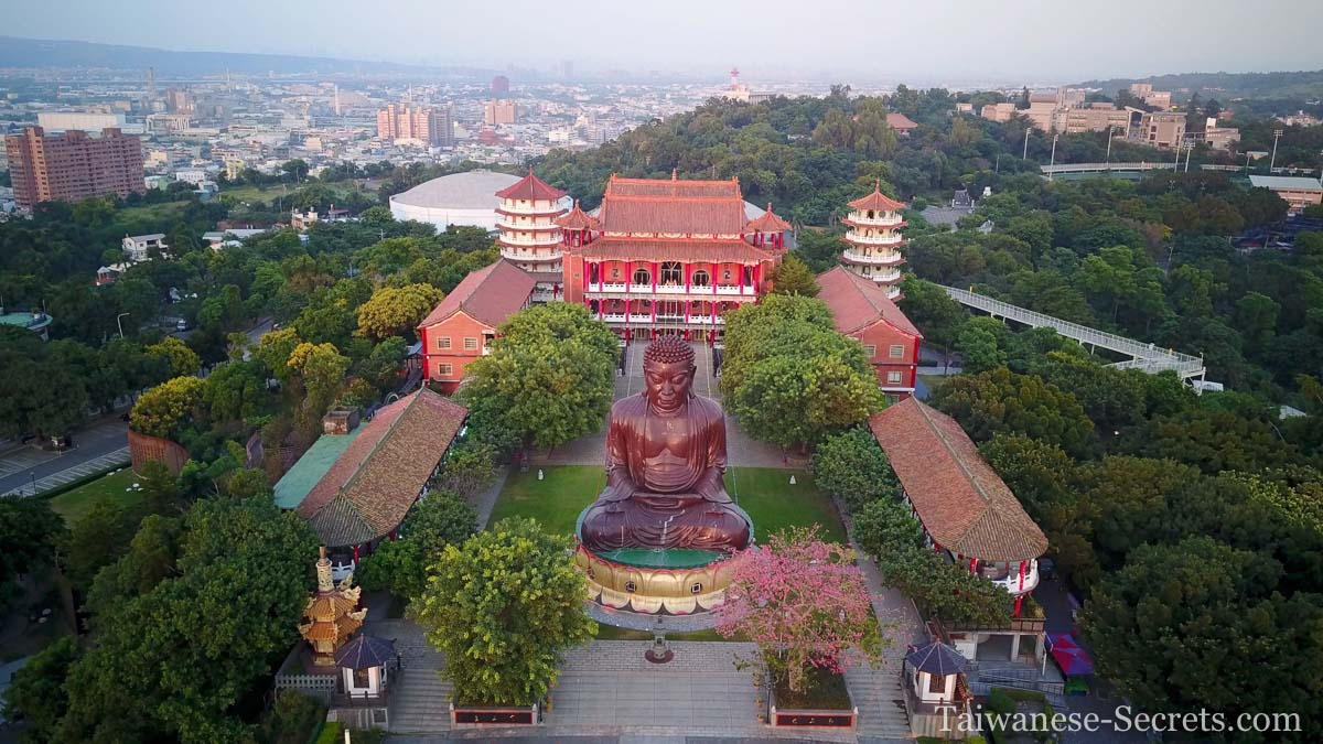 bagua mountain and the giant buddha