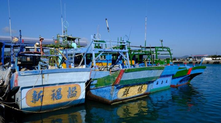 boats at houbihu
