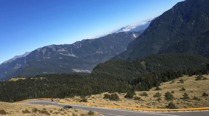 Taiwan's central Mountain range