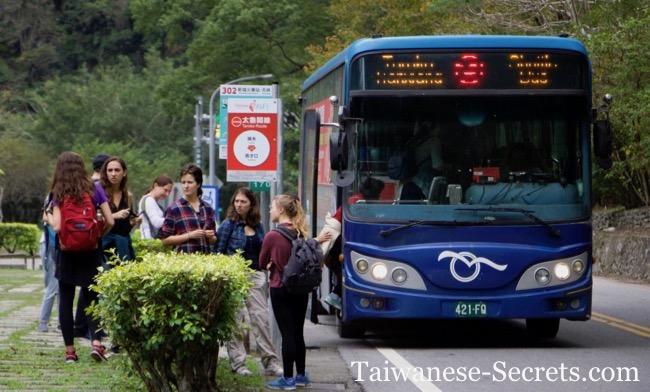 getting around taroko national park bus