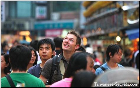 tourist in keelung taiwan
