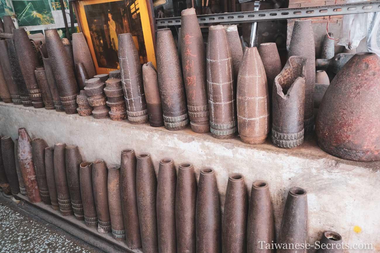 kinmen shell casings