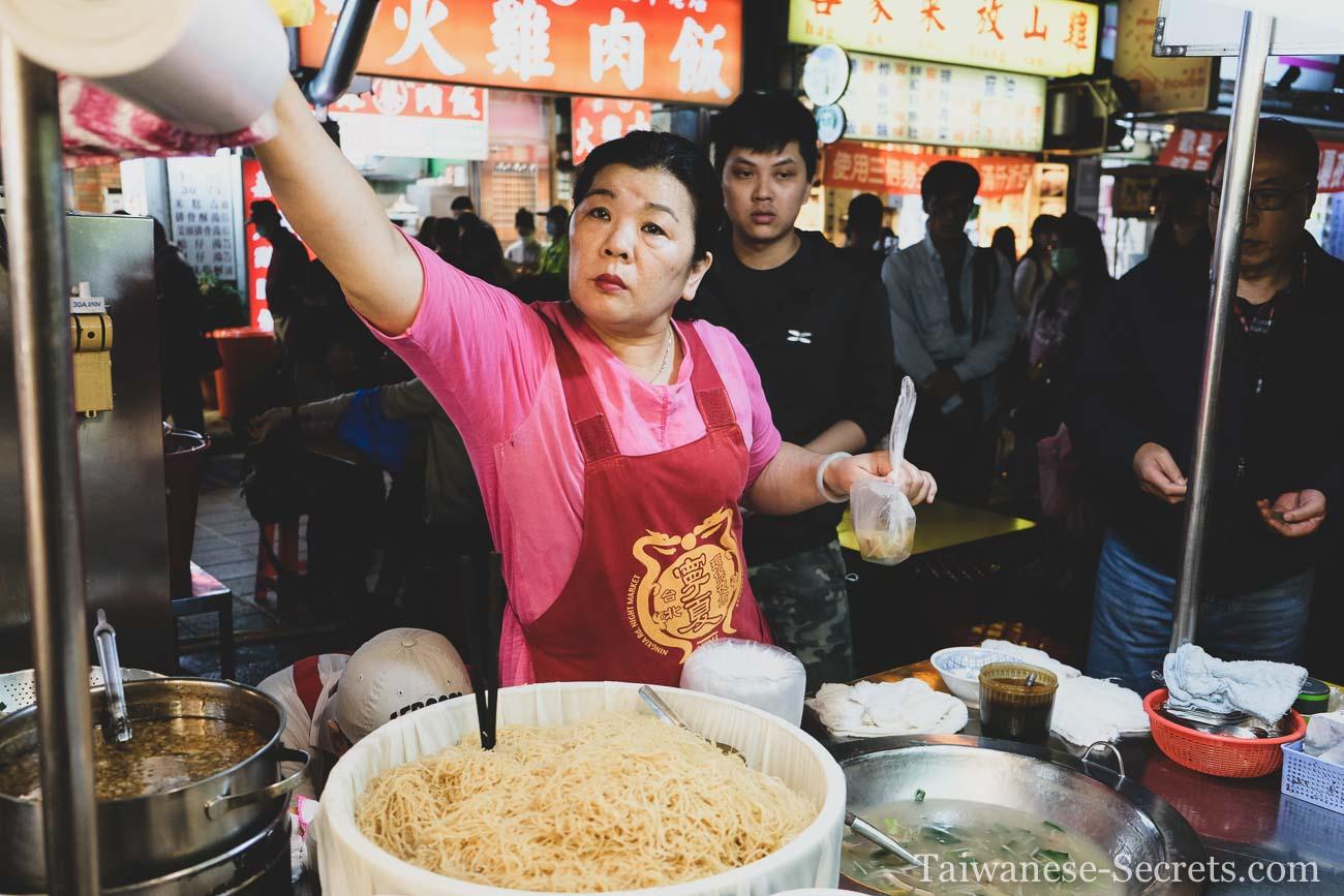 night markets in taipei city