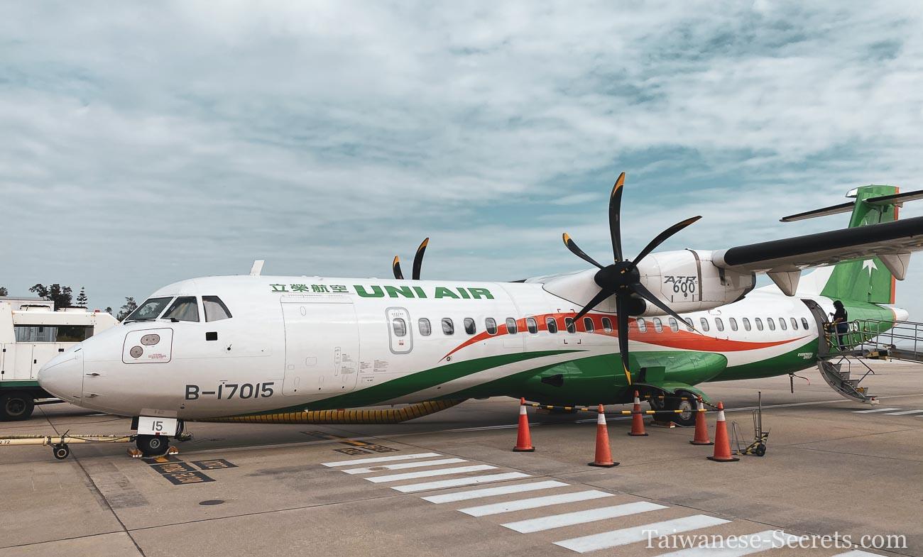Plane from Kinmen to Taipei