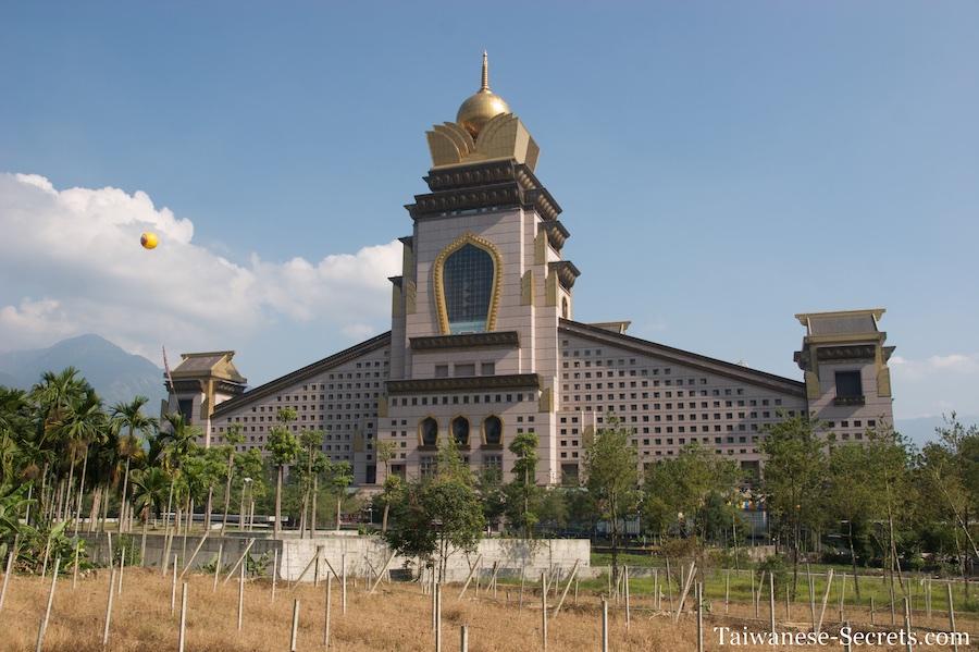 Chung Tai Chan Monastery in Puli, Taiwan