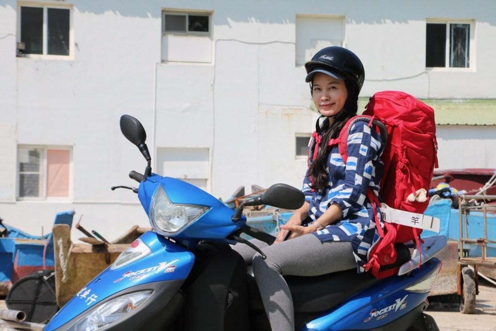 riding scooter matsu