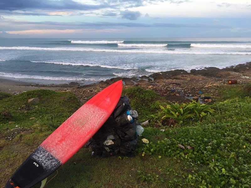 taiwan pingtung county surfing waves