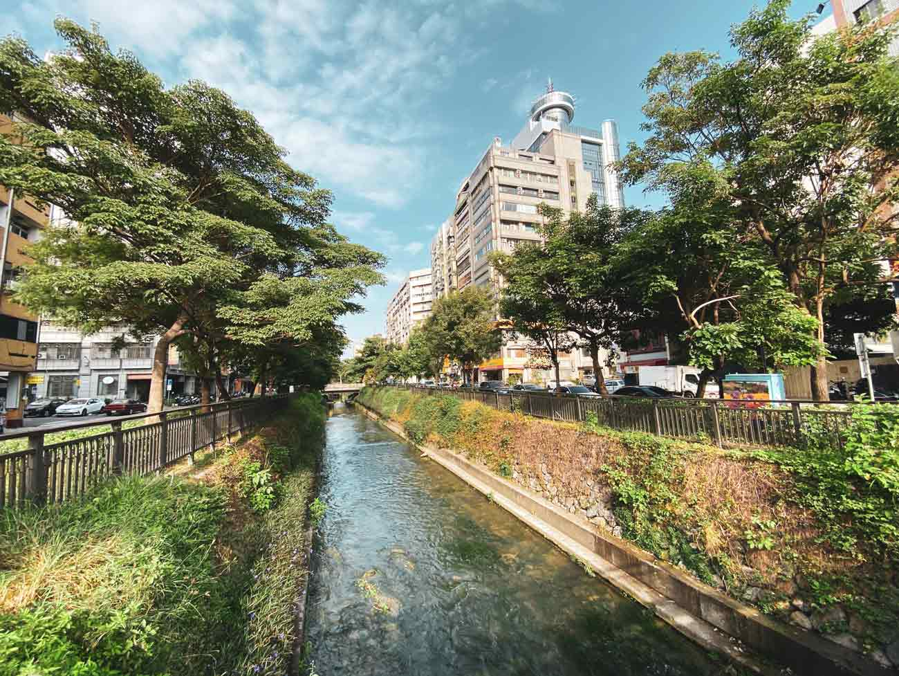 shin sei green waterway taichung