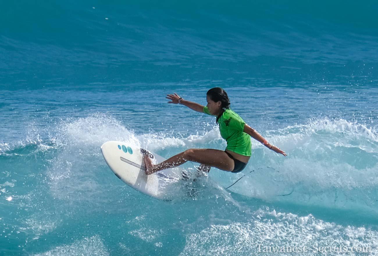 surfing jialeshui girl taiwan
