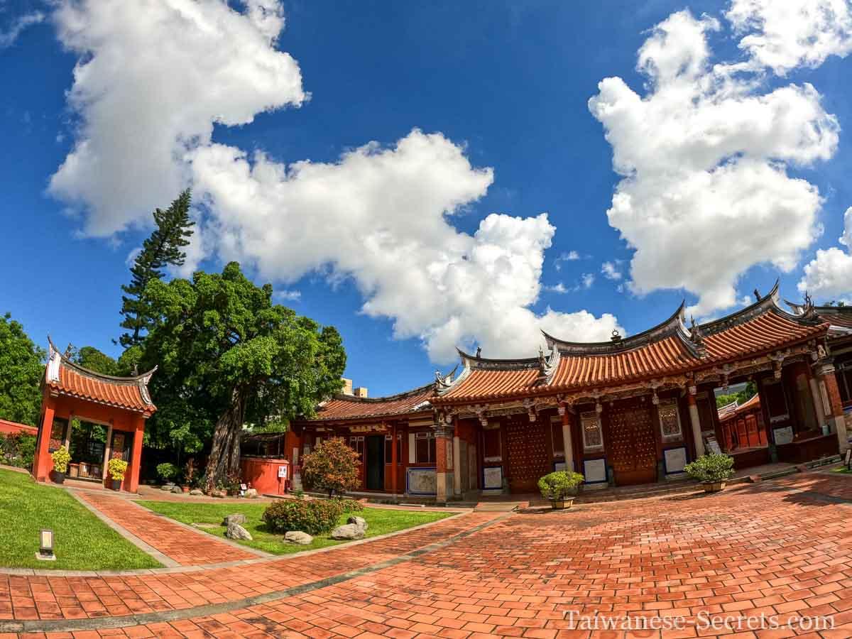 tainan confucius temple