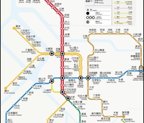 Subway Map Taipei.Taipei Archives Page 3 Of 6 Taiwanese Secrets Travel Guide