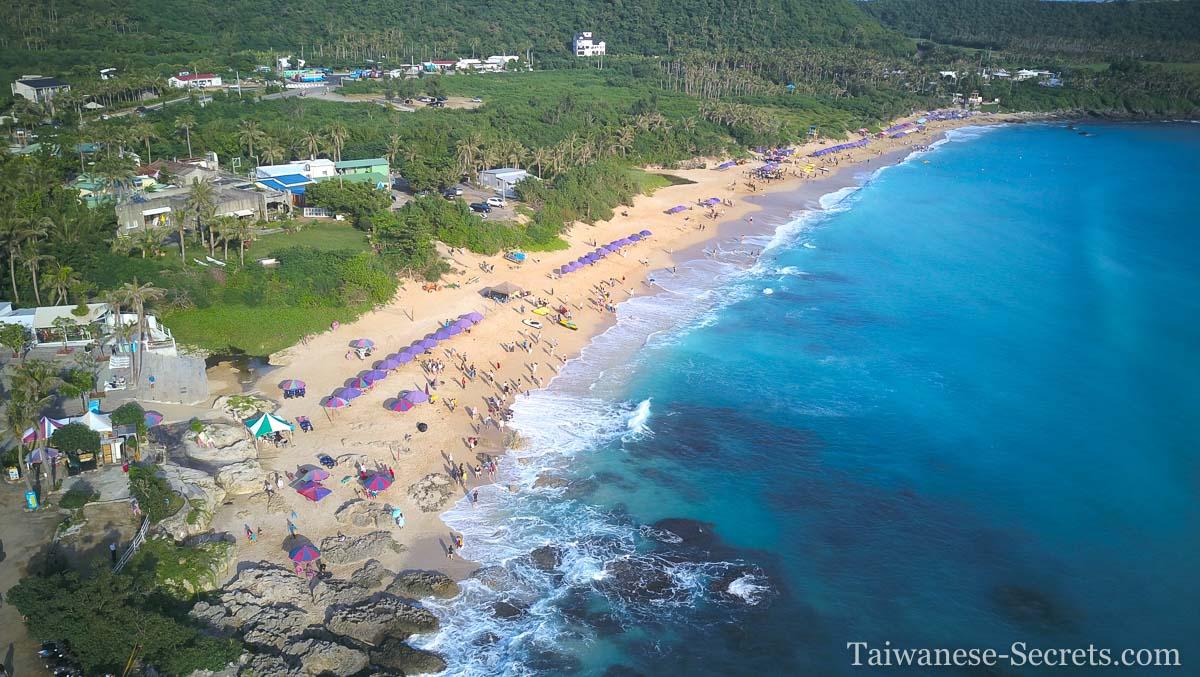 Baisha beach drone