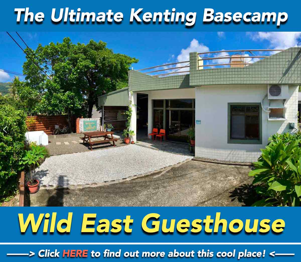 Wild East B&B Guesthouse Kenting