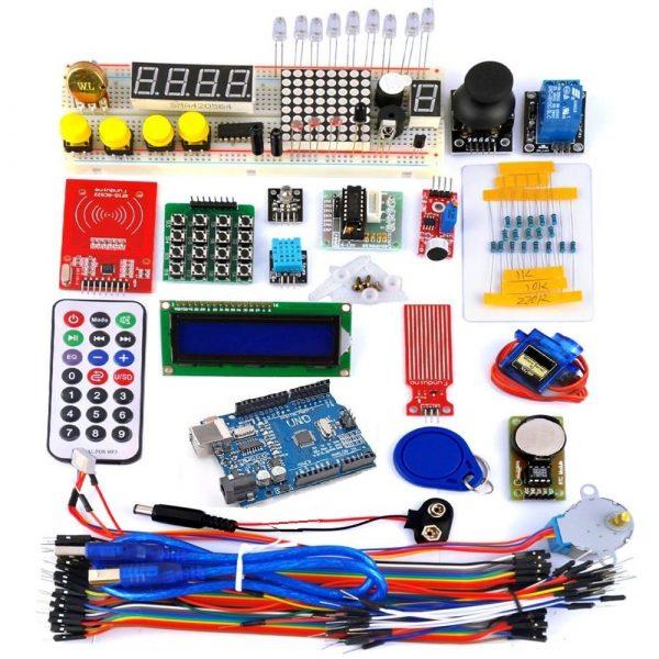 UNO R3初學者學習Arduino套件 入門學習套件組 36堂課程 教學套件 贈 4.3G 自學影音教學與資料 - 臺灣物聯科技 ...