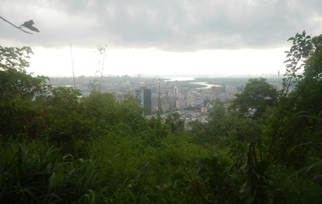 View over Taipei from Jiantanshan Trail