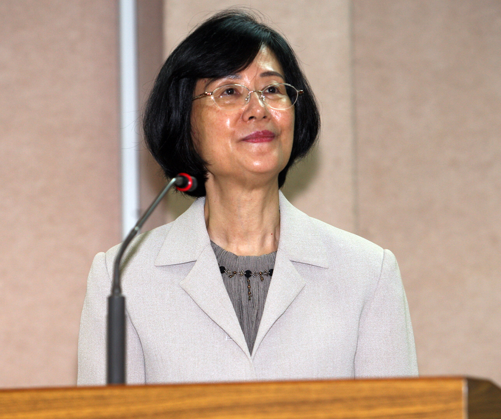 中華民國法務部長 羅瑩雪 博士。