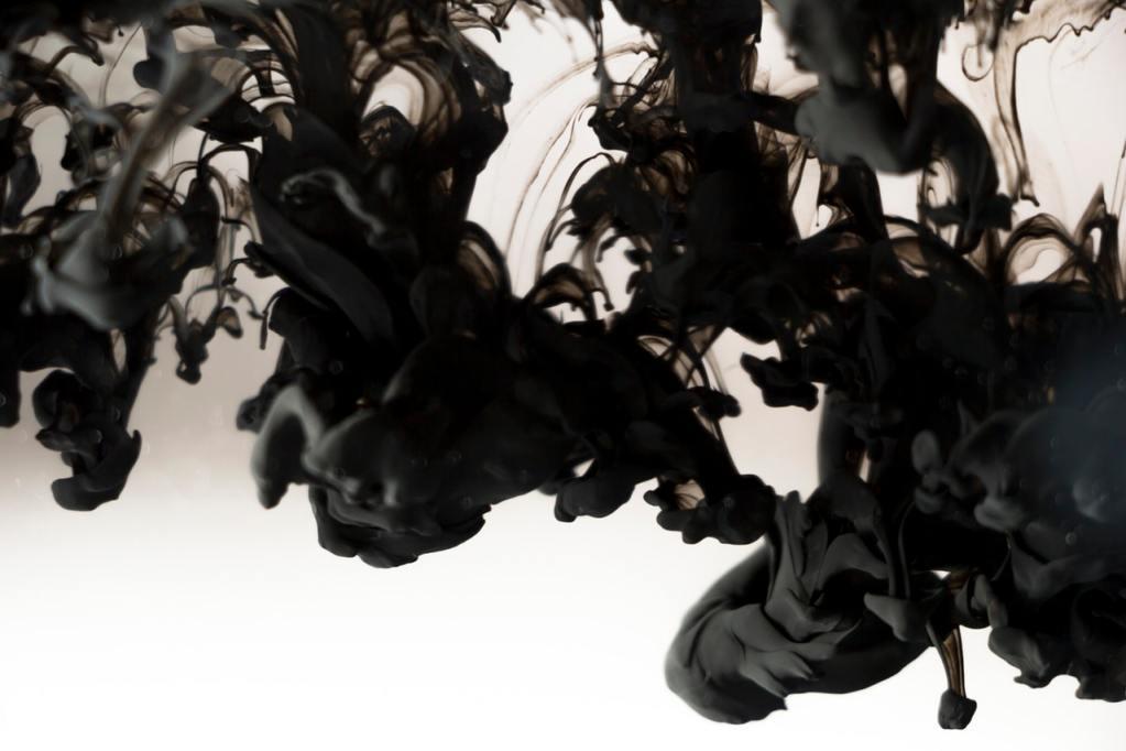 black smoke abstract 1
