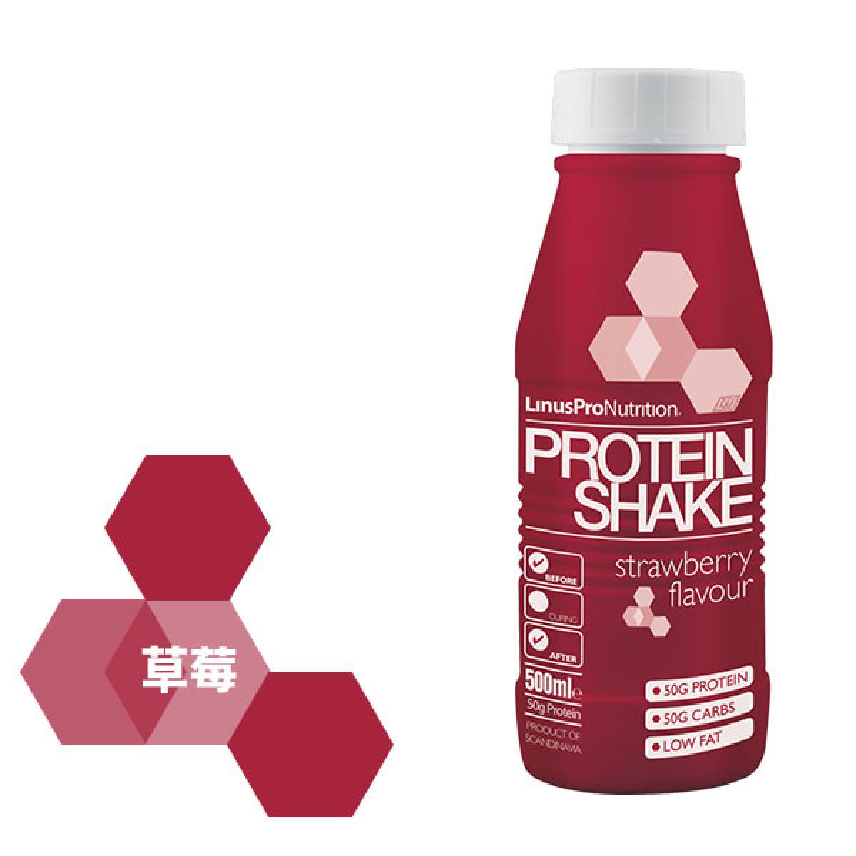 LinusPro 丹麥製造 Protein Shake 乳清 蛋白搖搖飲 500ml./罐