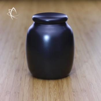 Satin Black Tea Urn Featured View