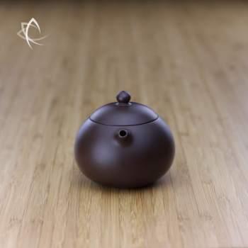 Small Xi Shi Purple Clay Teapot Spout View