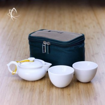 Everyday Tea Travel Set for Two Featured View