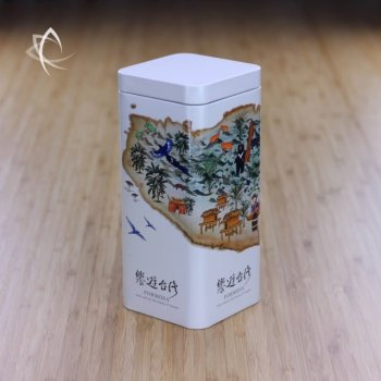 Tour of Taiwan Tea Caddy Other Side View
