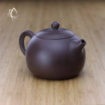 Larger Xi Shi Purple Clay Teapot Angled View