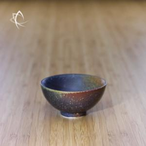 Ash Glazed Half Moon Tea Cup Featured View