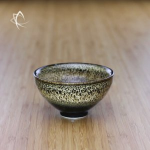 Black Hare's Fur Half Moon Tea Cup Featured View