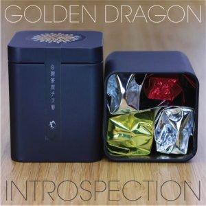 Golden Dragon Introspection Tea Sampler Tin