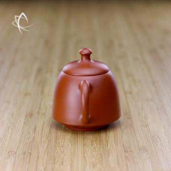 Hand Thrown Bell Shaped Teapot Handle View