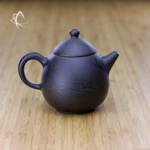 Hand Thrown Textured Dragon's Egg Teapot Featured View
