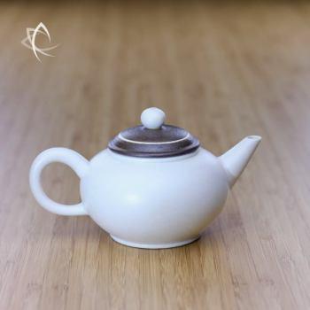 Chocolate Swirl Shui Ping Teapot Featured View