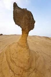 Une sculpture de la mer