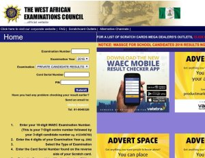 HOW TO CHECK YOUR 2016 WAEC GCE RESULT